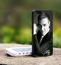 One Direction 1D Liam Payne - For iPhone 5 Black Case Cover | TheCustomArt - Accessories on ArtFire