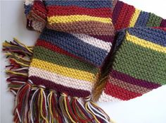 Doctor Who Scarf Fourth Doctor 6 ft. style  by TheFinalThread, $55.00