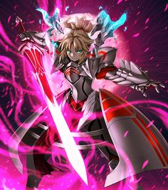 Saber of Red,Fate/Apocrypha,Fate (series),Fate (srs),Anime,аниме,Kurobuchi Numama