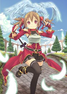 Sword Art Online, Silica, by hpflower