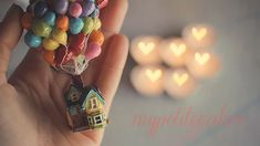 Polymer Clay UP House by ~MyPetiteCakes on deviantART