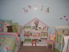 Shared Baby and Toddler Bedroom idea
