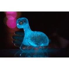 """The Dino Pet is a living, interactive """"pet"""" that uses naturally occurring bioluminescence to glow brilliantly when you play with it at night. Hold one of nature's most magical occurrences in your hand with no batteries or charging required. The glow comes from microscopic sea life called Dinoflagellates and it's powered by sunlight, water and simple nutrients. Please keep in mind that dinoflagellates will only produce bioluminescence during nighttime hours, in the dark when swirled or…"""