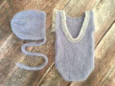 PDF Knitting Pattern newborn short sleeved by monkeymoomoo33