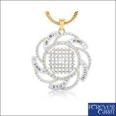 Details about  2.17 Ct Natural Diamond Pendant 100% Hallmarked 14k Gold Pendant Jewellery
