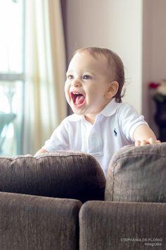 Ensaio fotográfico de bebê, 1 ano, 1 aninho, 1 year old, cake smash, shmash the cake Home session, ensaio em casa, lifestyle www.stephaniadeflorio.com.br Stephânia de Flório fotografia Estúdio em Praia Grande/SP