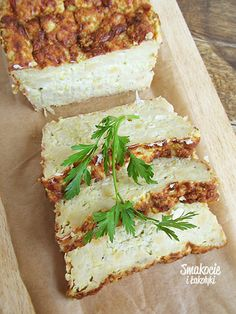 Polish Recipes, Polish Food, Sandwiches, Good Food, Food And Drink, Healthy Eating, Keto, Cheese, Dishes