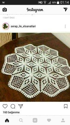 Crochet Doily Patterns, Crochet Motif, Crochet Doilies, Crochet Lace, Fun Crafts, Diy And Crafts, Tatting Tutorial, Pineapple Design, Chrochet