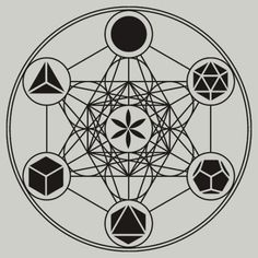 Metatron's Cube, Platonic Solids, Sacred Geometry ... Oh my!