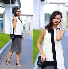 More looks by Anna Mour ♥: http://lb.nu/anna_mour  #classic #elegant #minimal #asymmetric #pleats #pleateddress #annamour #dresskot #kiev