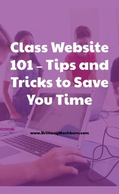 Do you have a class website yet? If you do, is it aimed mostly at parents or students? I would like to challenge you to change the way you think of class websites and move toward using yours like a Learning Management System.  The benefits are numerous, but the most important one is all of the time it will save you. Let me show you! Second Grade Teacher, First Grade Teachers, Kindergarten Teachers, Technology Lessons, Fifth Grade, Educational Technology, Lesson Plans, Curriculum, Lab