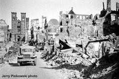 Würzburg, Germany  //Würzburg nach der Zerstörung vom 16. März 1945.