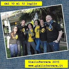 #ferrara #gialloferrara #giallofe15 www.gialloferrara.it