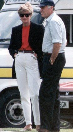 May 31, 1992: Princess Diana at a polo match at Smith's Lawn