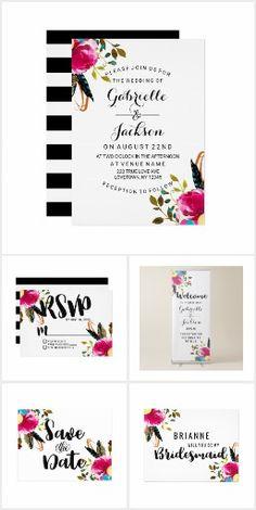 Boho Chic Floral - Wedding Suite