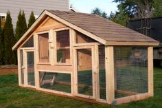 chicken coop...just paint it red or turquoise...?