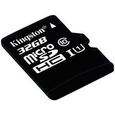 ¡Oferta! Tarjeta Kingston microSD de 32GB (clase 10 UHS-I 45MB/s) con adaptador SD por sólo 7,54 euros.