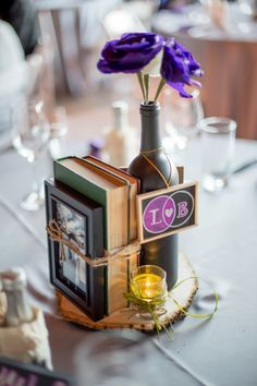Check out this awesome wine themed wedding!