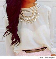 Amazing white top