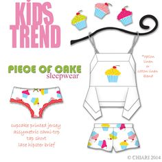 A piece of cake for summer print trend in ej's room. CHIARIstyle