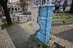 3D-Street-Art von Add Fuel in Lissabon