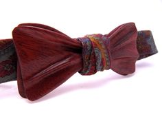 Ella Bing Wood Bow Tie