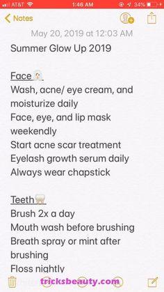 glow up tips skin - glow up tips ; glow up tips school ; glow up tips skin ; glow up tips overnight ; glow up tips 2020 ; glow up tips appearance ; glow up tips beauty ; glow up tips hair Beauty Tips For Glowing Skin, Clear Skin Tips, Beauty Skin, Skin Care Routine Steps, Clear Skin Routine, Face Care Routine, Glow Up Tips, Summer Glow, Healthy Skin Care