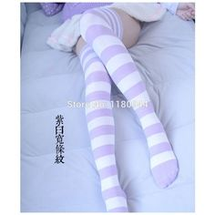 Thigh highs ❤ liked on Polyvore featuring intimates, hosiery, socks, purple socks, thigh high hosiery, thigh high socks and purple thigh high socks