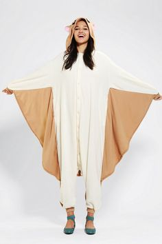 Kigurumi Flying Squirrel Costume