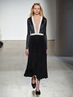 V-neck pleated dress | Barbara Casasola | MATCHESFASHION.COM