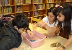 Students at the Rogers Street Academy Community Learning Center recreated what happened when the Titanic sunk by making ships out of clay. They competed to see which group could add the most pennies to their ship without it sinking. The winning team was able to keep their ship afloat with 17 pennies!