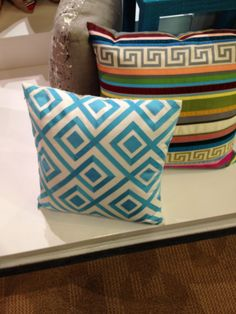 High Point Spring 2012-Leave it to Dransfield and Ross to interpret one of our favorite fretwork designs out of grosgrain ribbon...LOVE!