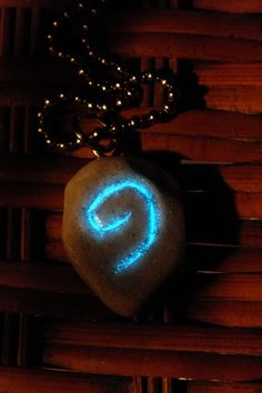 Glow In The Dark WoW Hearthstone Necklace. $18.00, via Etsy.