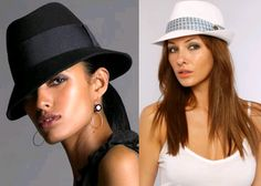 Fedoras can add fabulous to the simplest of outfits! #hats #fedora