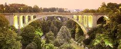 Pont Adolphe Bridge, Luxembourg city