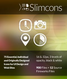 Check out Slimcons by Paul Spades on Creative Market Web Application, Ui Design, Marketing, Website, Creative, Check, User Interface Design