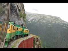 TOP 10 MOST DANGEROUS TRAIN ROUTE IN THE WORLD....... - YouTube