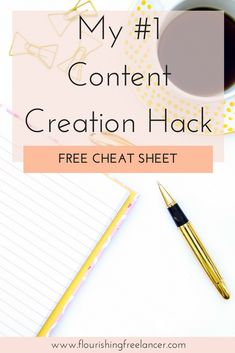 Learn how to create a year's worth of content in one afternoon with my number one content creation hack for bloggers