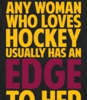 I know at least 1 person who would claim I am fiery. Lol! But I wouldn't be valuable as a hockey mom if I wasn't. Lol!