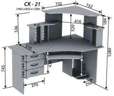 Мебель своими руками компьютерных столов 84