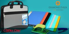 Tired of running around for your office stationeries ? Come to Office Linc at Diamond Plaza. One stop for all your office needs.