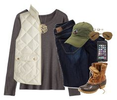 """boys are so annoying"" by smbprep ❤ liked on Polyvore featuring Toast, American Eagle Outfitters, L.L.Bean, J.Crew, Southern Proper, LifeProof, Ginette NY, Ray-Ban and Honora"