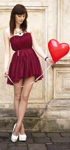 Valentine Tulle Dress ♥