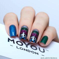 Пластина для стемпинга MoYou London Kaleidoscope 09 - купить с доставкой по Москве, CПб и всей России.