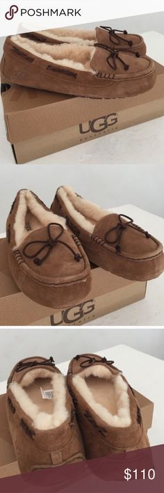 Brand new authentic UGG moccasins New in box UGG Shoes Moccasins
