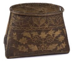 Native American Baskets, Native American Artifacts, Birch Bark Baskets, Minnesota Historical Society, Bountiful Baskets, Art Watch, American Indian Art, Tree Bark, Everyday Items