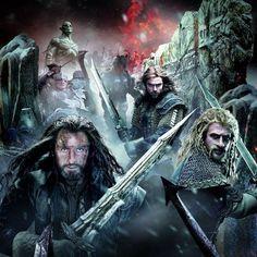 Nuevo poster de Thorin, Fili y Kili de El Hobbit: La Batalla de los Cinco Ejércitos