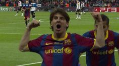 T10/11 Final UEFA CL: FC Barcelona 3-1 Manchester United (RAC1) by FCBarcelonaRAC1. 1-0 Pedro
