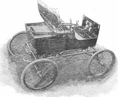 1898 Mason Steam Carriage Never Produced but, used to test Mason steam engines for vehicles.