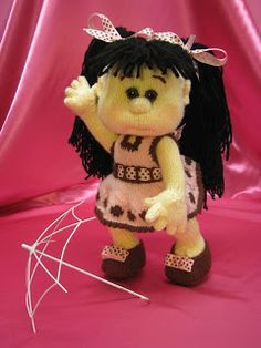 Knitted Dolls Knitted Dolls, Teddy Bear, Toys, Animals, Activity Toys, Animales, Animaux, Clearance Toys, Teddy Bears